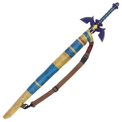 Amazon.com: Bioworld Tri-Force Zelda Sword - Paraguas ...