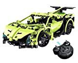 Steerfr Model Kits Remote Control Car, Electronics Kit Toys for Boys,1:14 2.4GHz Construction Kits Sets,Build Your Own Radio Controlled Car,Science Gift for Kids 8-14 Years Old,Green