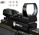 Red Dot Sight Reflex Holographic Scope Tactical Rifle Mount 20mm Rails