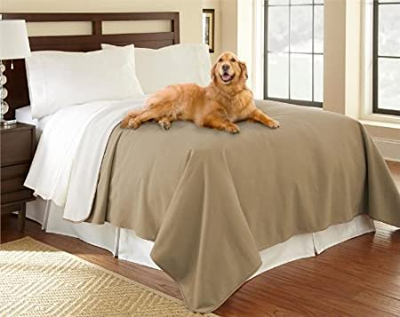 Mambe 100/% Waterproof Furniture Cover for Pets and People X-Long Seat 30 x 90, Buff-Camel