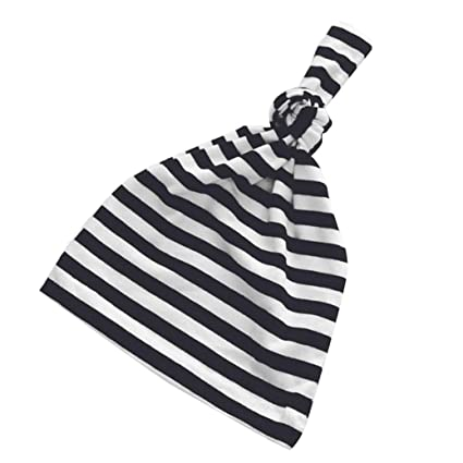 ae997f7ef50 Image Unavailable. Image not available for. Color  WARMSHOP 1 Pc Newborn  Hats For Boys Girls Soft 100% Organic Cotton Solid Color Infant