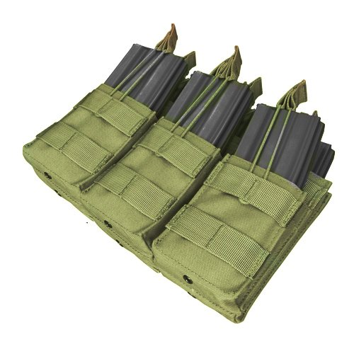 Condor Triple Stacker Mag Pouch Olive Drab Rifle Magazine Pouch