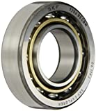 SKF 7206 BECBM Light Series Angular Contact Ball Bearing, Universal Mounting, ABEC 1 Precision, 40° Contact Angle, Open, Brass Cage, Normal Clearance, 30mm Bore, 62mm OD, 16mm Width, 15600.0 pounds Static Load Capacity, 23800.00 pounds Dynamic Load Capac