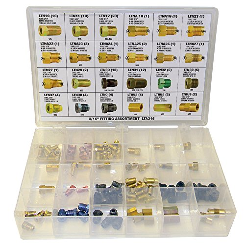 (Brake Line Fitting Assortment - 3/16