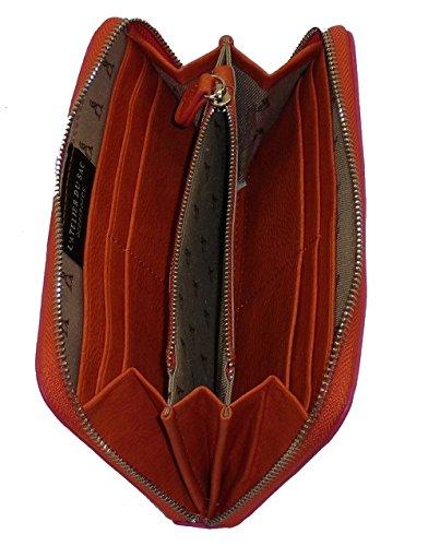 Portafoglio Pashbag by L'atelier du sac mod 4416 porte monnaie ARANCIO