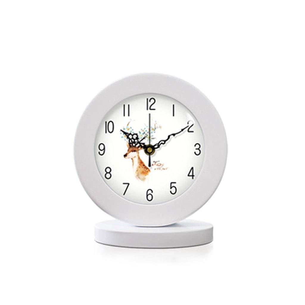 Minimalista Moderno Reloj nórdico Muda Reloj de cabecera Reloj ...