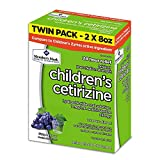 Member's Mark Children's Cetirizine Allergy Relief Oral Solution, Sugar-Free Grape Flavor (pack of 6)