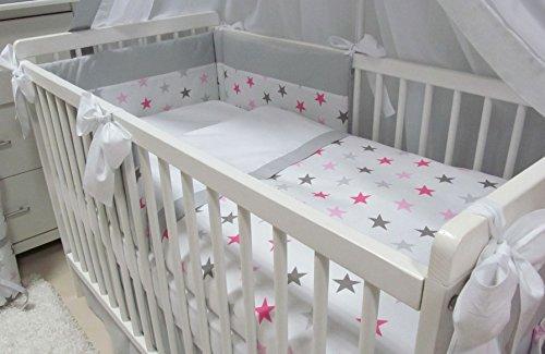 Babymajawelt® Bettwäsche Set 5tlg