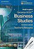 Cambridge IGCSE Business Studies Teacher's Resource CD-ROM (Cambridge International IGCSE)