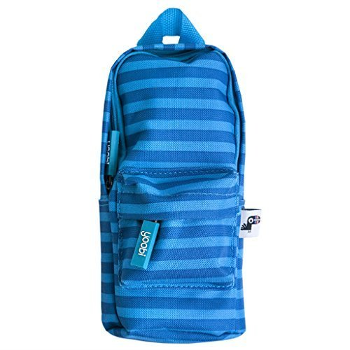 Yoobi Mini Backpack Pencil Case (Blue Stripe) by Yoobi
