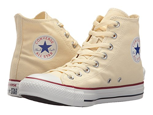 Converse Unisex Chuck Taylor All Star Low Top Natural Sneakers, Natural White, 9 B(M) US Women / 7 D(M) US Men