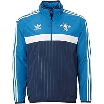 Adidas Chelsea FC Half Zip Windbreaker-CONAVY (XS)