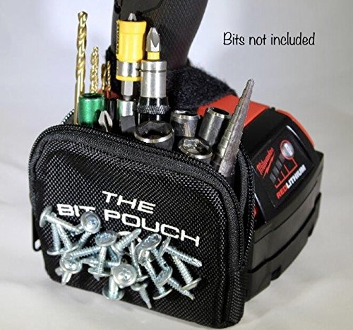 The Bit Pouch a Tough Magnetic Bit and Screw Bag for Your Drill & Impact Driver