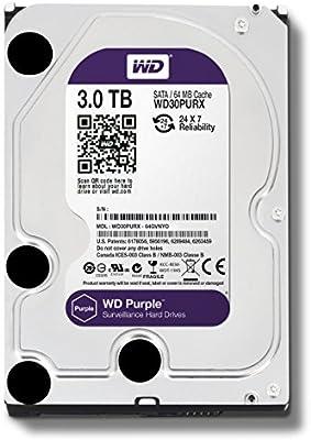 WD PurpleWD30PURX - Disco duro para videovigilancia (3 TB ...