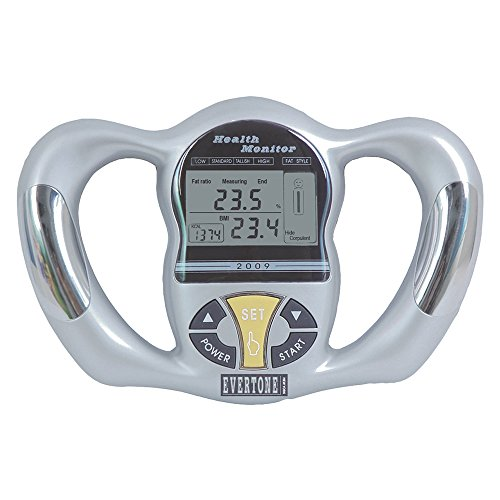 2 Energym USA Fat Loss Monitor Digital Hand Held Body Fat...