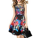 China Palaeowind Spring And Summer Fashion Embroidered Waist Embroidered High Waist Dress,Color-XL
