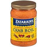 Zatarains Pre-Seasoned Crab and Shrimp Boil 72 Ounce (Pack Of 4)