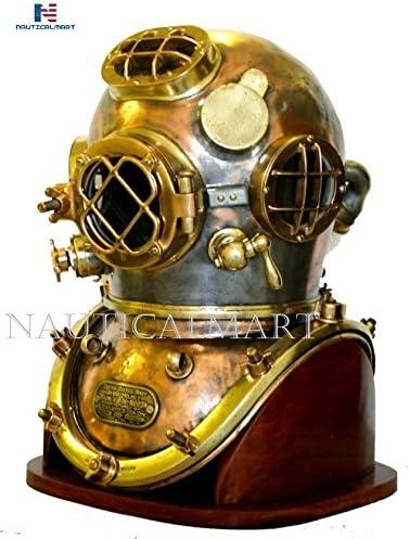 Antique Diving Helmet Best Marine Decorative Old Diving Helmet Vintage Metal