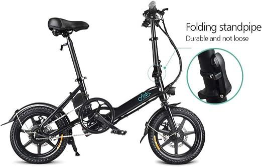 Adminitto88 - Bicicleta eléctrica Plegable de Aluminio, para ...