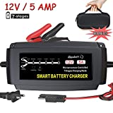 LST 12V 5A Automatic Battery Charger Maintainer Smart Deep Cycle Trickle Charger