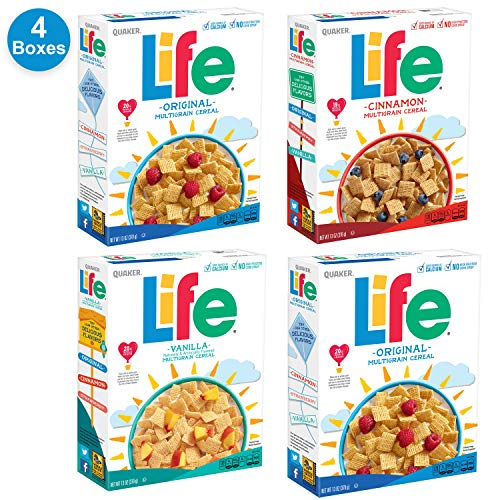 (Quaker Life Breakfast Cereal Variety Pack, 52 Ounce)