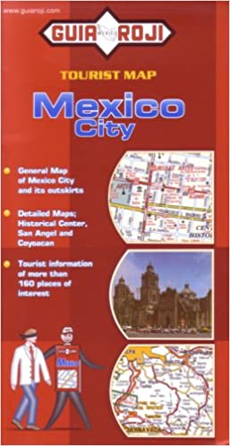 mexico city tourist map in english by guia roji guia roji 9789706215482 amazoncom books