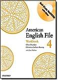 American English File 4 Workbook: with Multi-Rom