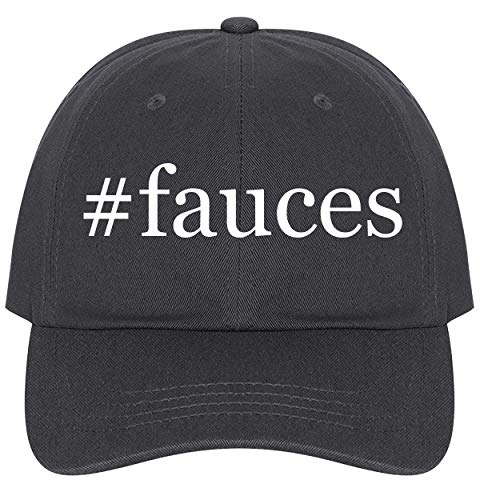 The Town Butler #Fauces - A Nice Comfortable Adjustable Hashtag Dad Hat Cap, Dark Grey, One -