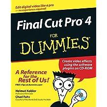 Final Cut Pro4 For Dummies