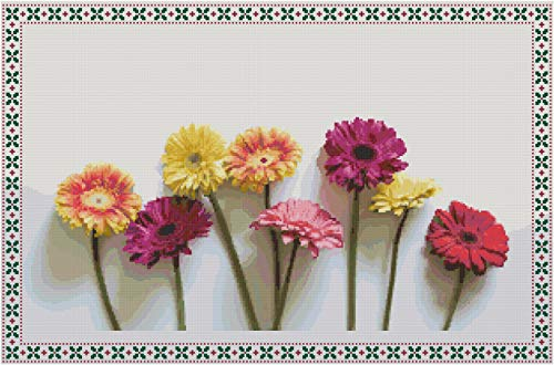 Cross Stitch Patterns: Flowers 1/ cross stitch patterns download/ Needlecrafts Counted Cross Stitch/ Cross Stitch Designs
