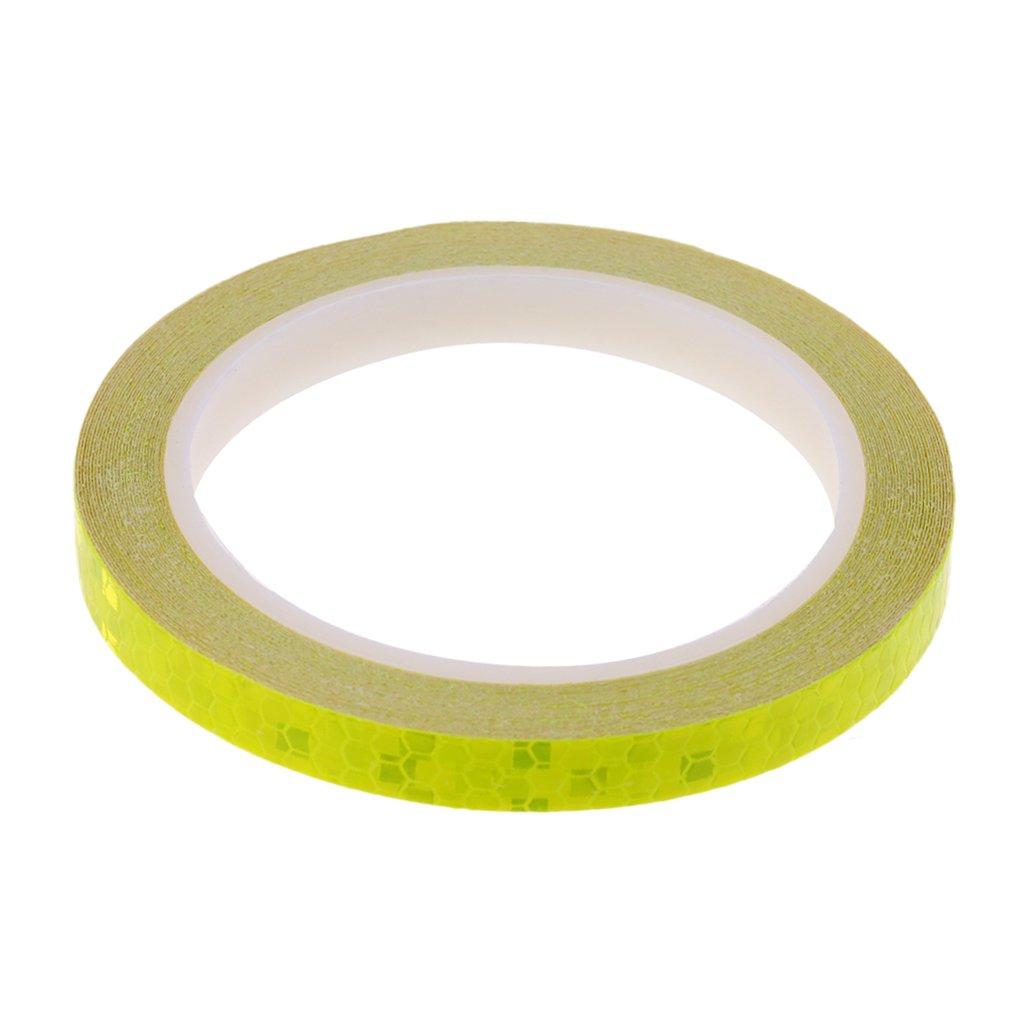 8m Long Strips Wheel Reflective Stickers Rim Tape for Bike Car Motorcycle