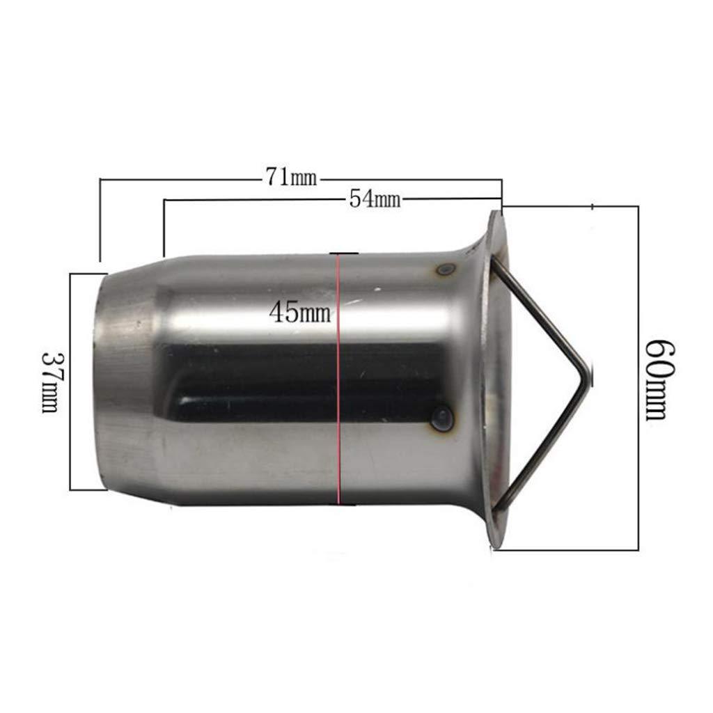 gazechimp DB Killer Motos Tuyau Silencieux d/Échappement 60mm Universelle