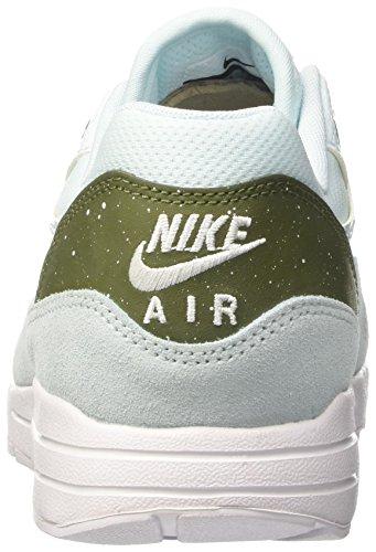 Nike Wmns Air Max 1 Ultra 2.0, Zapatillas para Mujer Turquesa (Glacier Blue/glacier Blue/legion Green)