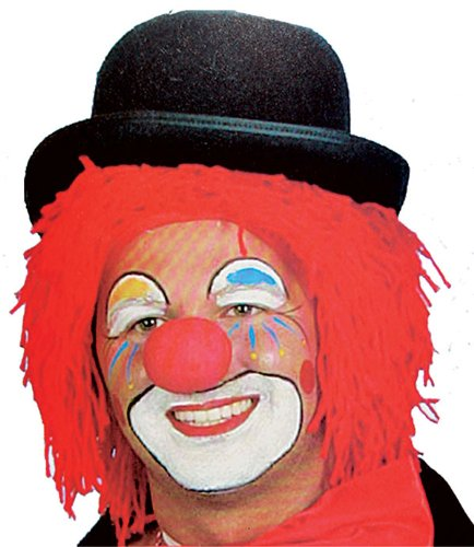 Bozo The Clown Wig (Red Clown Wig - One Size)