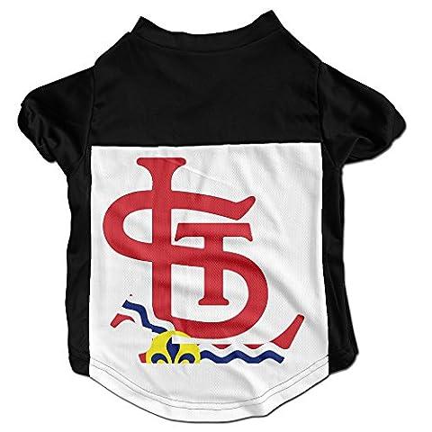 LALayton St Louis Flag Logo Personalize Shirt L - Louis Cardinals Fiber
