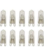 VSTAR 10pcs G9 Halogen Bulb, 40-Watt 120-Volt Base G9 Halogen Bulb,Pack of 10