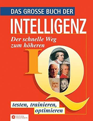 Das Grosse Buch Der Intelligenz  Der Schnellere Weg Zum Höheren IQ   Testen Trainieren Optimieren