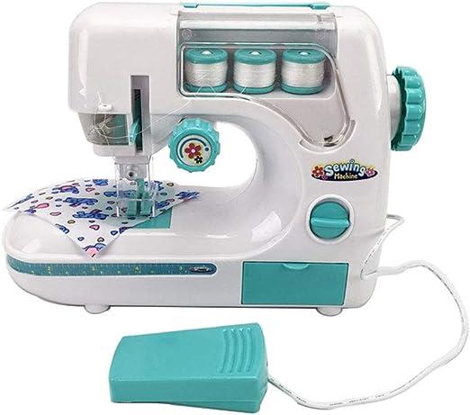 YAP Childrens máquina de Coser para Principiantes Mini Hogar Máquinas de Coser de múltiples Funciones de Coser eléctrica la reparación Crafting la Educación Bricolaje Coser Juguetes para Niños Niñas: Amazon.es: Hogar