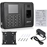 KKmoon 2.8 TFT LCD Display USB Biometric Fingerprint Attendance Machine Password Time Recorder Clocking Employee Checking-in Reader