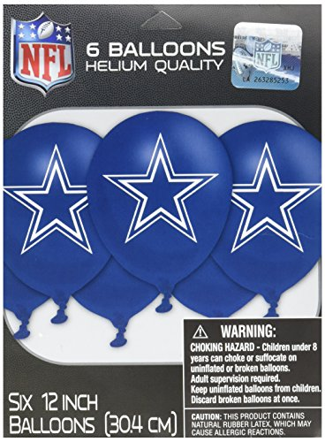 Amscan Dallas Cowboys Latex Balloons