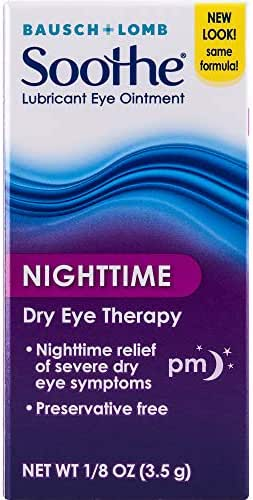 Eye Drops: Bausch + Lomb Soothe Night Time