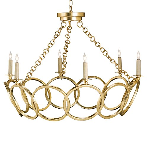 ollywood Regency Circular 6 Light Chandelier (Orb Regency Light)