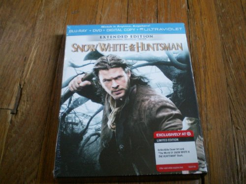 Snow White and the Huntsman LIMITED EDITION INCLUDES BONUS DISC Two-Disc Combo Pack: Blu-ray + DVD + Digital Copy + UltraViolet