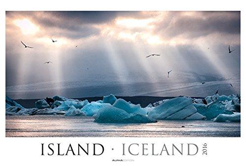 Island 2016 - Iceland - Bildkalender XXL (68 x 46) - Landschaftskalender - Naturkalender