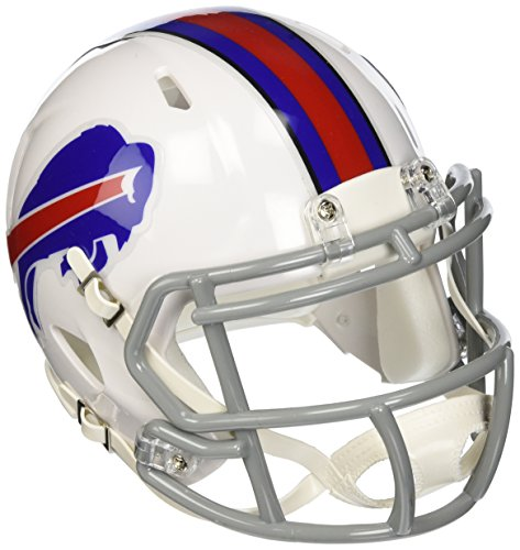 Buffalo Football Bills Mini Helmet - Riddell Buffalo Bills NFL Replica Speed Mini Football Helmet