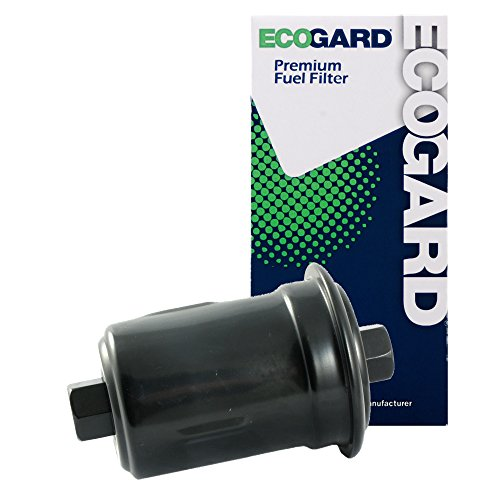 ECOGARD XF44710 Engine Fuel Filter - Premium Replacement Fits Toyota 4Runner, Tacoma, Pickup, T100 / Kia Optima, Magentis / Lexus LS400, SC400, SC300, GS300 / Hyundai Sonata, XG350, XG300 (00 Toyota Tacoma Pickup)