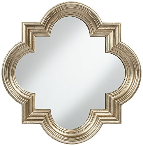 Farley Silver 34 Quatrefoil Mirror product image