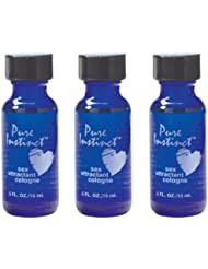 Pure Instinct 3 Pack - Pheromone Infused Perfume/cologne...