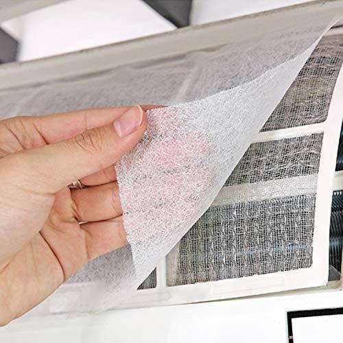 LSGDSXMIY Hogar filtro de aire acondicionado polvo de entrada de aire cubierta de polvo filtro de papel de filtro de purificacion de aire filtro de polvo de algodon red de aislamiento