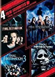 4 Film Favorites - Final Destination 1-4 DVD